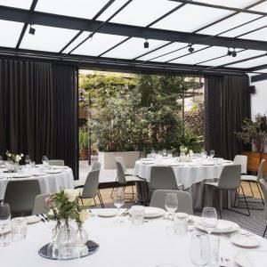 Montaje Banquete Forum A Restaurante Solomillo