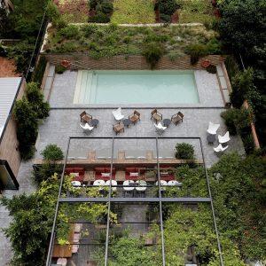 Patio Terrace View Solomillo Restaurant