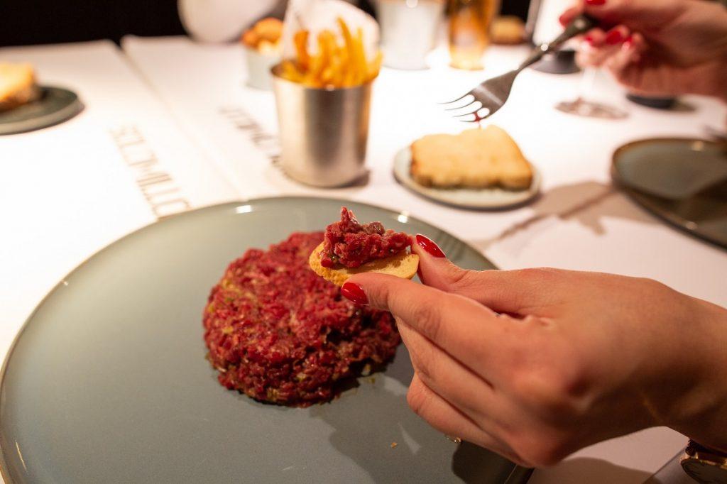 Steak Tartar Restaurante Solomillo