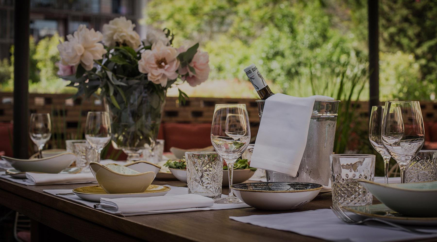 restaurante solomillo patio terraza